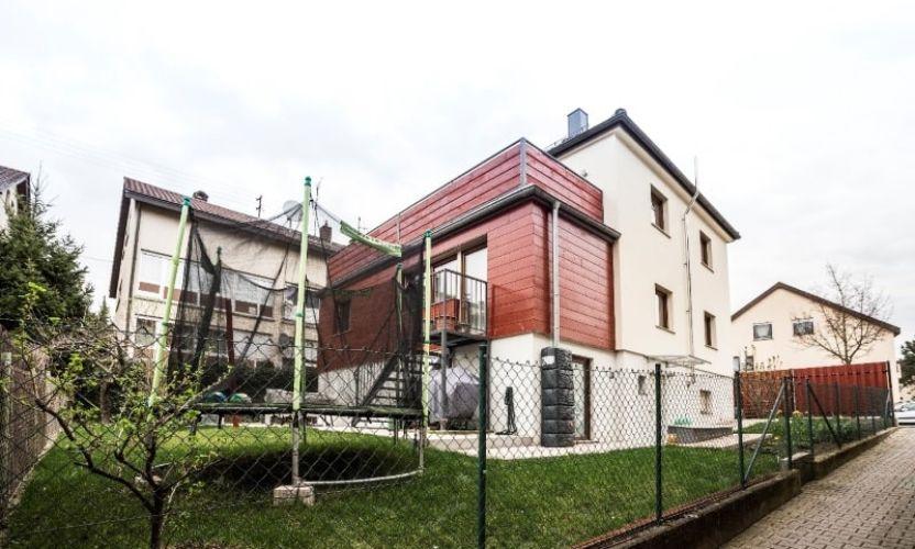 Erweiterung und Modernisierung eines Einfamilienhauses in Fellbach